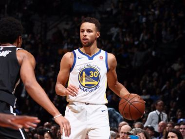 Stephen Curry starred for defending champions Golden State Warriors. Twitter/@NBA