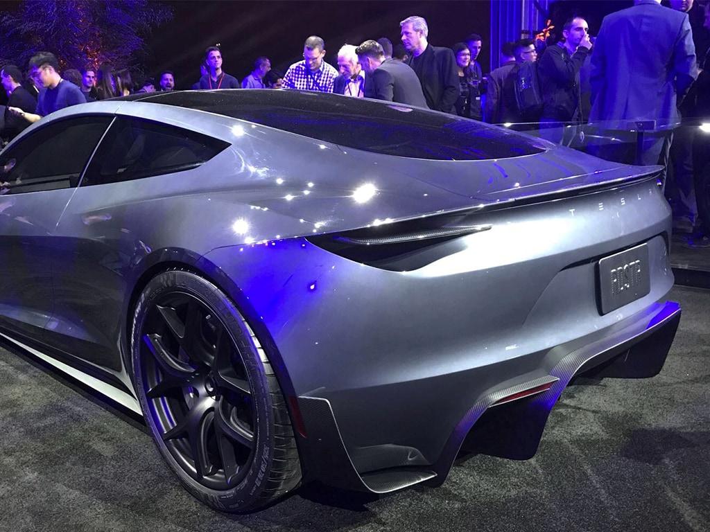 Elon Musk Tesla Electric Car
