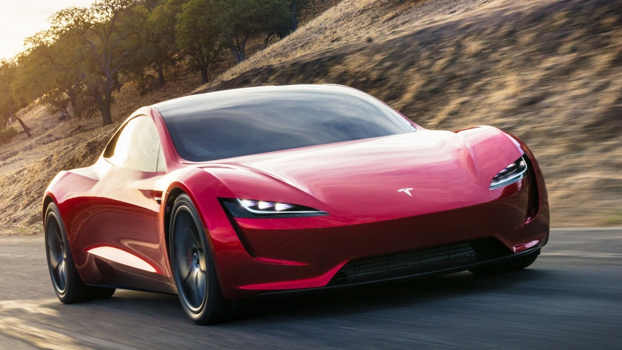 tesla roadster in pictures elon musk 39 s surprise package that could become the fastest. Black Bedroom Furniture Sets. Home Design Ideas