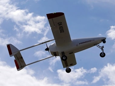 The Primoco One 100, an unmanned aerial vehicle. Image: Reuters
