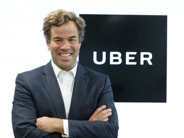 Uber's Asia Pacific Chief Business Officer Brooks Entwistle. Image: Reuters