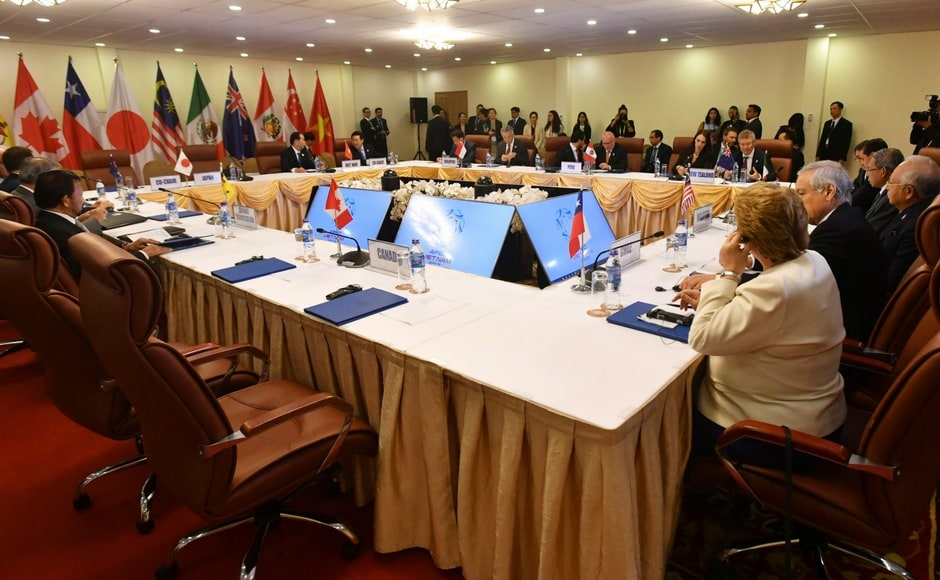 The TPP-11 signed the major trade deal after days of stalled talks raised fears it could collapse altogether. AP
