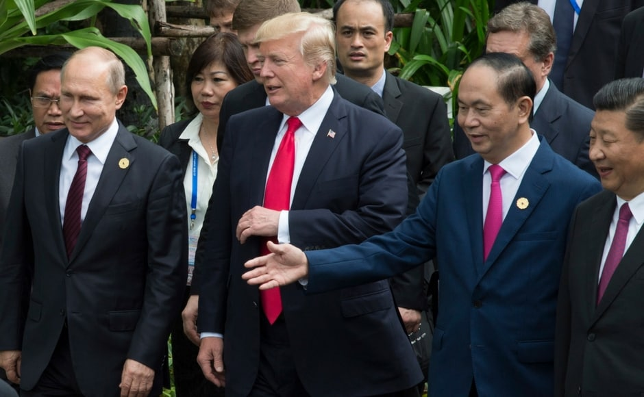 Trump pulled US out of the Trans Pacific Partnership at the start of the year dismaying allies and casting into doubt an agreement heralded for tying lower tariffs to strong environmental and labour protections. AP