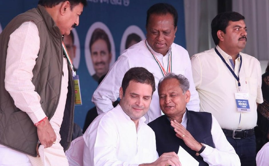 On the first leg of the campaign on Saturday, Gandhi tore into the Centre's decision to revise tax rates for goods and service tax (GST), stating structural reforms are necessary in the policy. Twitter@ashokgehlot51