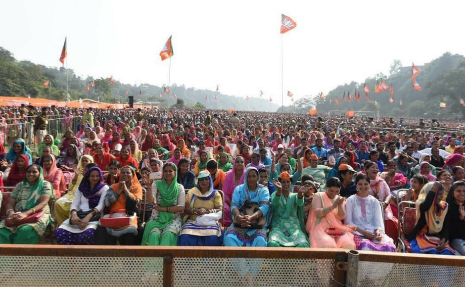 Campaigning for the third day in a row in the poll bound state, Modi said the election was not being fought by his party, the BJP, but the people of the state who were out to