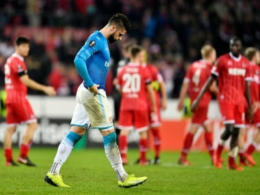 Europa League: Arsenal qualify for last-32 despite loss to Cologne; Atalanta hand Everton 5-1 drubbing