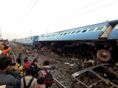 At least three people were killed when the Vasco Da Gama-Patna Express derailed in UP. Twitter @airnewsalerts