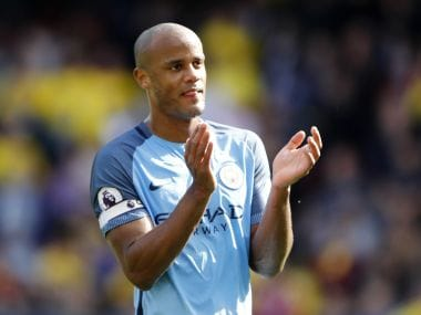 File image of Manchester City's Vincent Kompany. Reuters