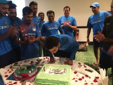 Virat Kohli turns 29: Indian captain celebrates birthday with teammates as wishes pour in from all over the world