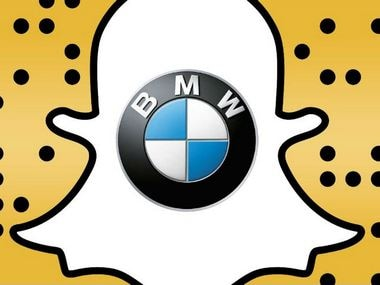 Snapchat and BMW.