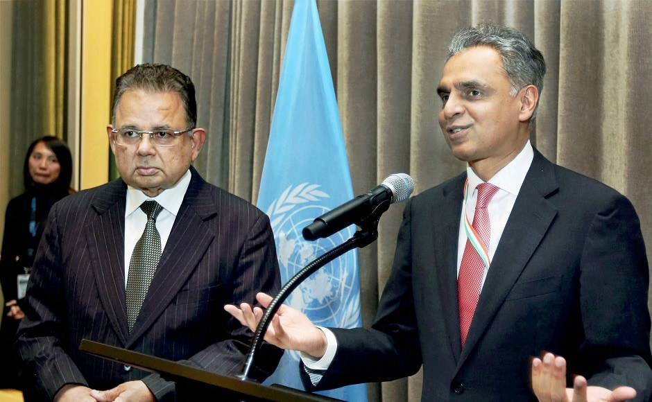 Judge Dalveer Bhandari was re-elected to the International Court of Justice (ICJ) after Britain withdrew its candidate Christopher Greenwood. PTI