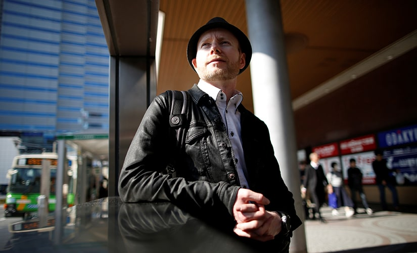Kolin Burges, a cryptocurrency investor and former software developer who lost 311 bitcoins in the collapse of the Mt. Gox bitcoin exchange, poses for a photograph in Tokyo, Japan, November 4, 2017. Picture taken November 4, 2017.  Image: Reuters/Issei Kato