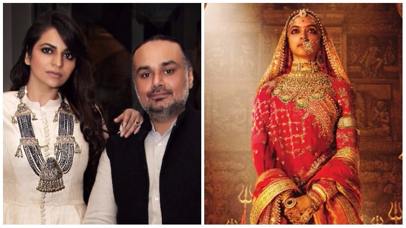 Rimple and Harpreet Narula are behind the sumptuous costumes for Padmavati