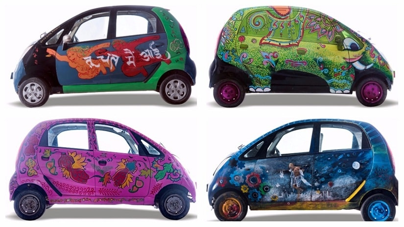 Cartist Yatra will take painted cars on the road, covering over 9,100 km