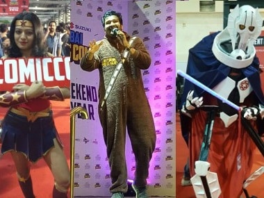 Comic Con Mumbai 2017: Sahil Shah performs, Cosplay winner announced on Day 2