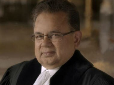 File image of Judge Dalveer Bhandari. News18