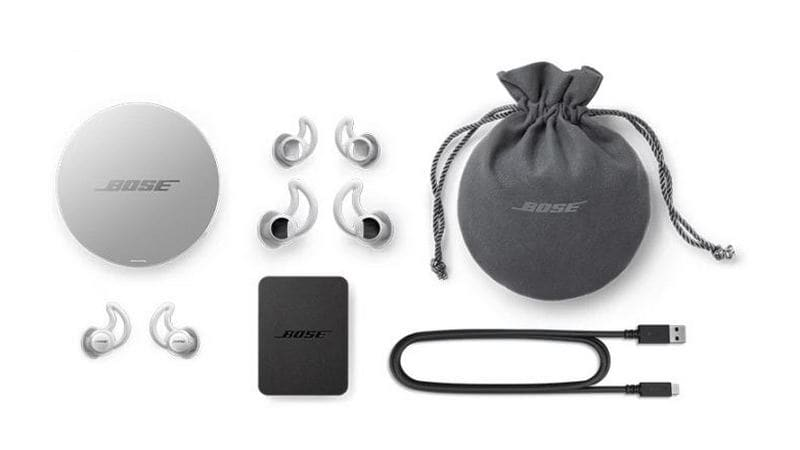 What you will get in the box of the prototype Bose Sleepbuds. Indiegogo