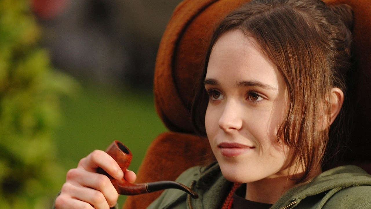 Ellen Page. Twitter