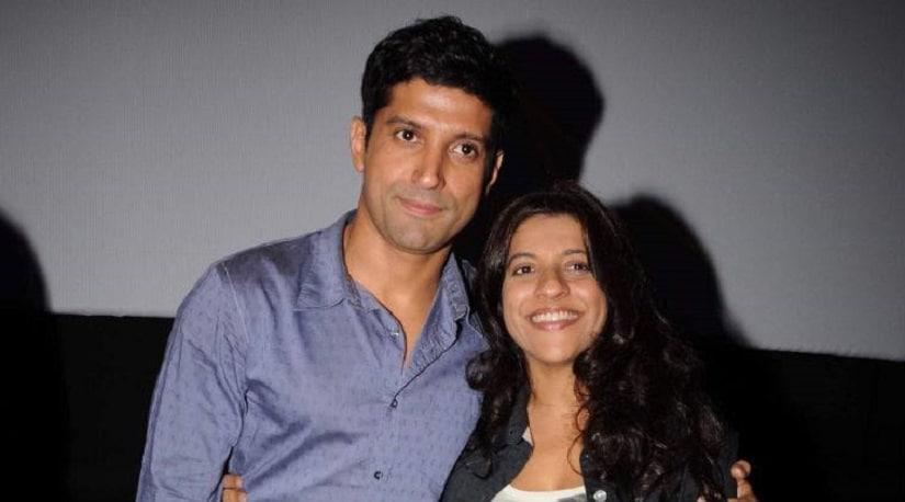Zoya Akhtar and Farhan Akhtar. File image.