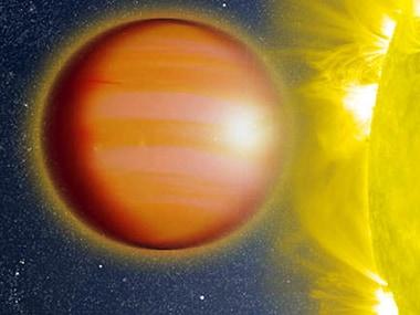 An artist's impression of WASP-18b. Image: NASA.