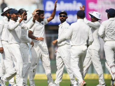 File image of Indian team. AFP