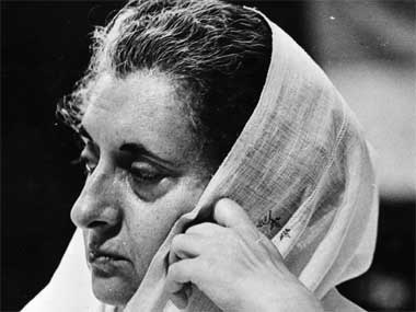 File image of former prime minister Indira Gandhi. Getty images