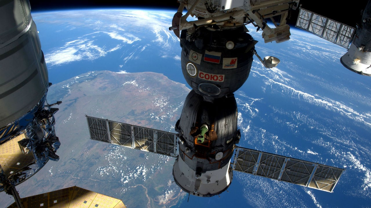 international space station report iss