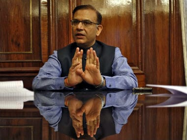 File image of Union minister Jayant Sinha. Reuters.