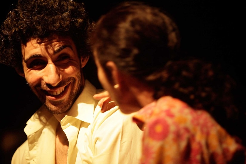 Jim Sarbh as Tom Wingfield in The Glass Menagerie. Image via Rage Productions