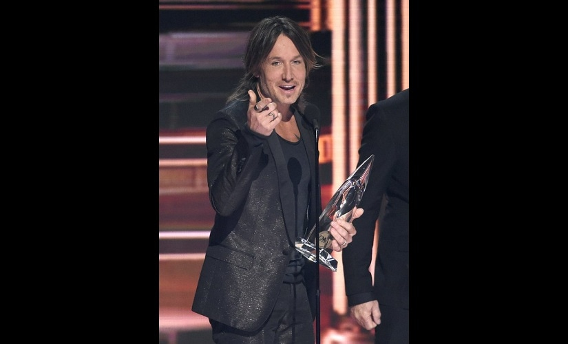 Keith Urban. Image from AP.