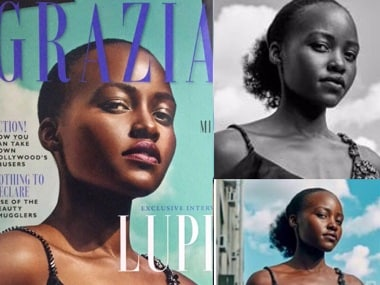 Lupita Nyong'o slams Grazia for airbrushing her hair to 'fit a more Eurocentric notion' of beauty