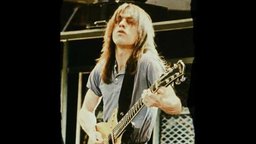 Malcolm Young of AC/DC. Photo courtesy Facebook