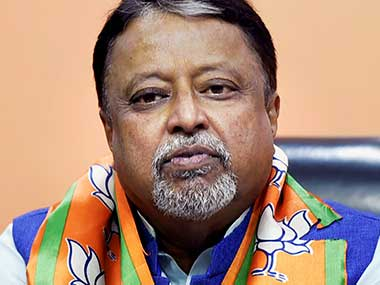 File image of Mukul Roy. PTI