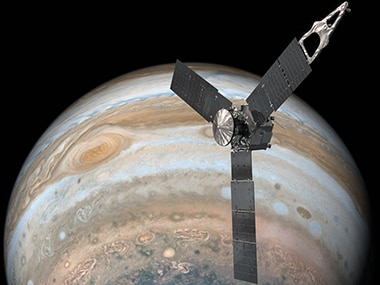 NASA's Juno spacecraft successfully completes its 10th science orbit of Jupiter's atmosphere