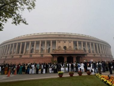 A file image of the Indian Parliament. PTI
