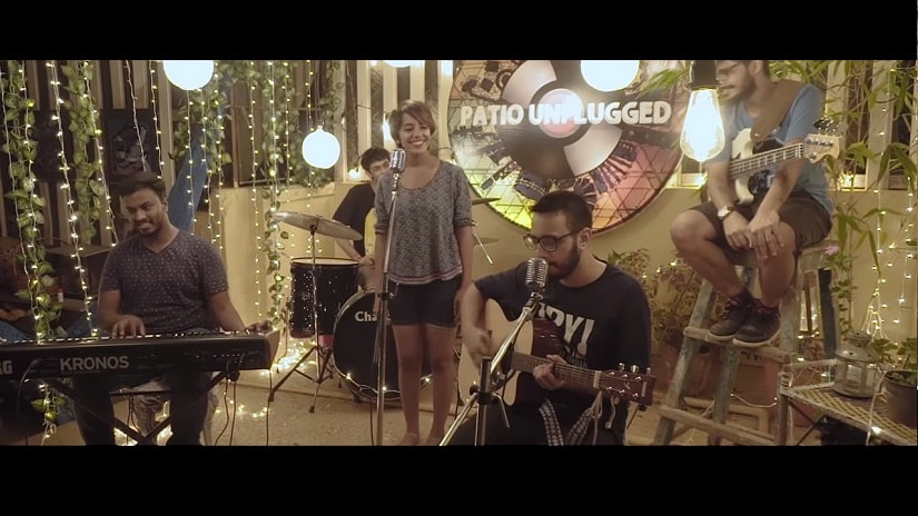Second Sight perform on Patio Unplugged