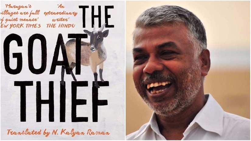 Perumal Murugan's short stories have been translated and published in a new collection called 'Goat Thief'