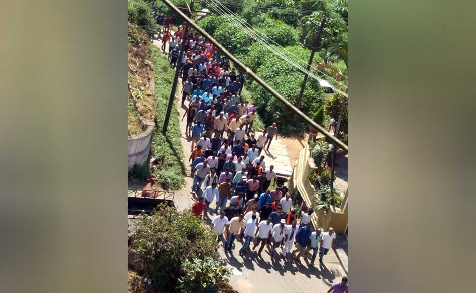 "The BJP sees Tipu as a ""religious bigot"" and a ""brutal killer"", while some Kannada outfits call him anti-Kannada, citing that he had promoted Persian at the cost of the local language. BJP and Sangh parivar workers staged protest in Madikeri against celebration of Tipu jayanti. M Raghuram"