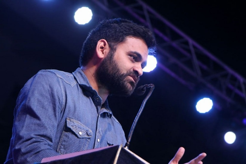 Director Praveen Sattaru. Photo courtesy Facebook/@PraveenSattaru