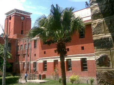 Ramjas College. Wikimedia Commons