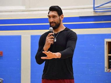 Satnam Singh signs for UBA, says he wants to take basketball to next level in India