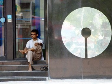 AN ATM counter of the State Bank of India. AFP