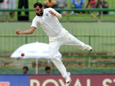 File photo of Mohammed Shami. AFP