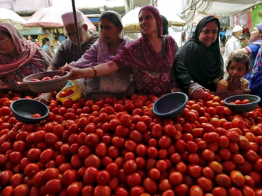Tomato prices have shot up in national capital region.