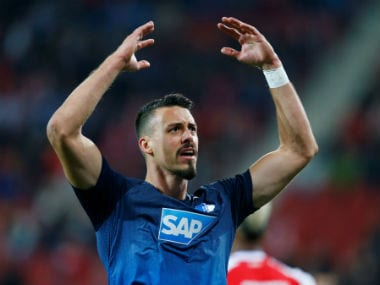 File photo of Sandro Wagner. Reuters