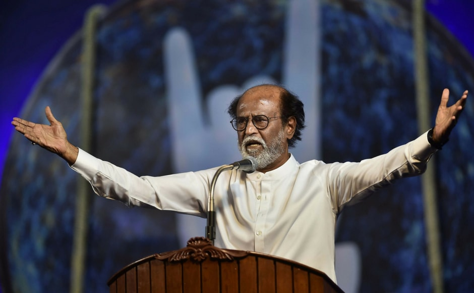 In an announcement that could dramatically alter political alignments in Tamil Nadu, superstar Rajinikanth announced his entry into politics on Sunday and said he will launch his own party.
