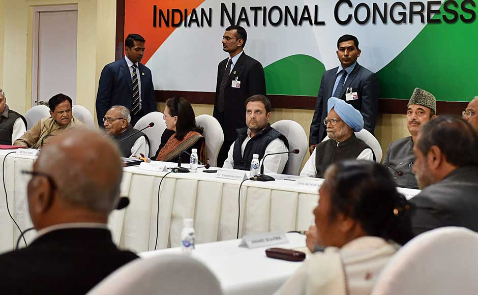 Rahul Gandhi chairs his first CWC; organisational revamp of Congress, 2G verdict on meeting agenda