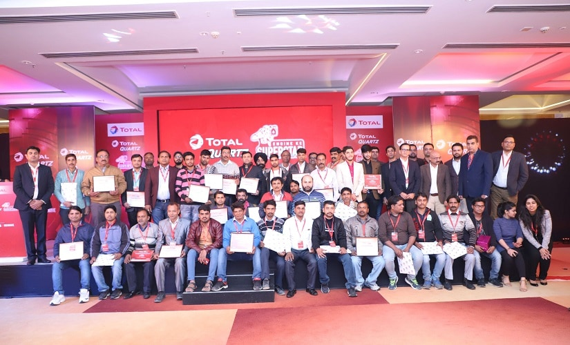 Total India decided to recognise and appreciate the much deserving automobile technicians all over India. Source: Total India