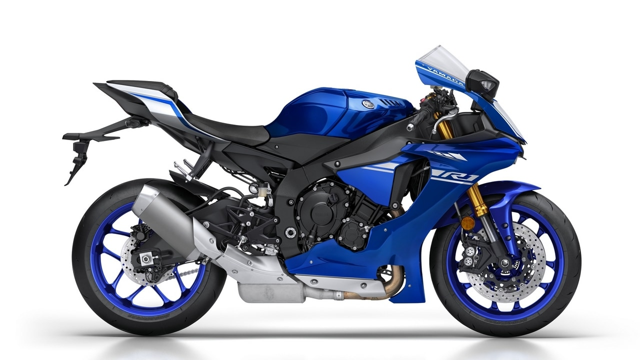 2018 yamaha yzf r1 superbike launched in india at rs lakh technology news firstpost. Black Bedroom Furniture Sets. Home Design Ideas