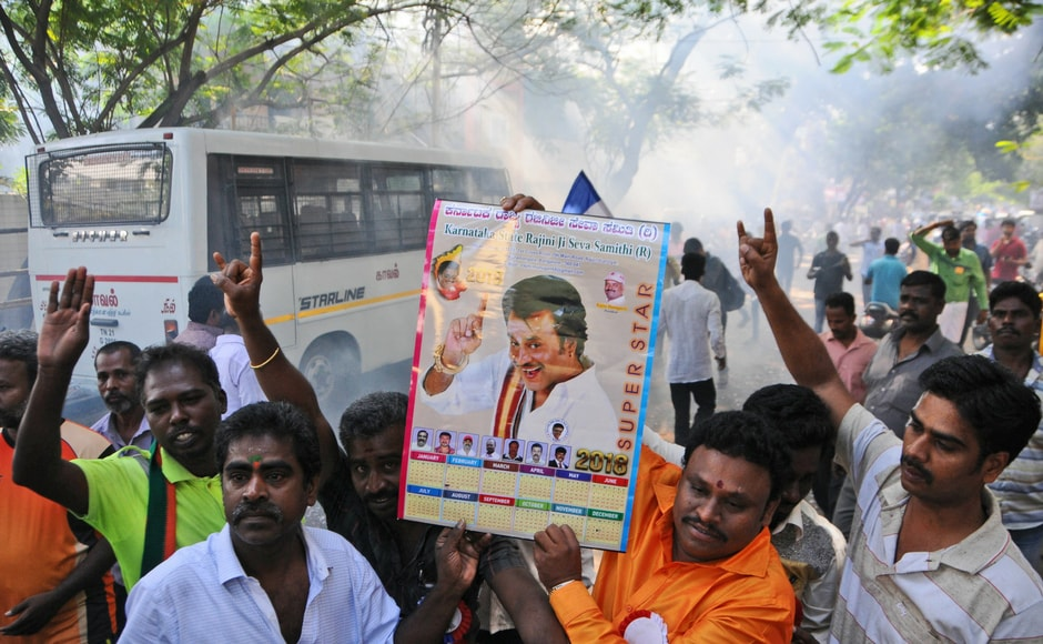 He said the party will be launched ahead of assembly elections at an appropriate time. The announcement ends two decades of speculation over the entry of the actor, who enjoys cult status in Tamil cinema, in the political arena. AP